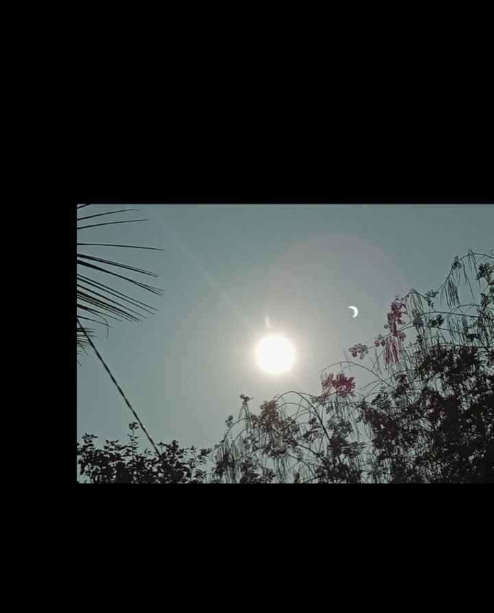 🌞 વર્ષ 2019 નું સૂર્ય ગ્રહણ - . - ShareChat