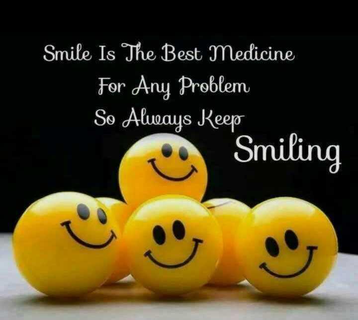 😊 વિશ્વ ખુશી દિવસ - Smile Is The Best Medicine For Any Problem So Alueays Reep Smiling ☺ - ShareChat