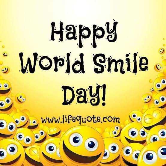 😊 વિશ્વ ખુશી દિવસ - Happy : World Smile Day ! 3 . www . lifequote . com - ShareChat