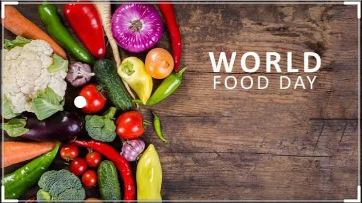 🥘 વિશ્વ ખોરાક દિવસ - WORLD FOOD DAY - ShareChat