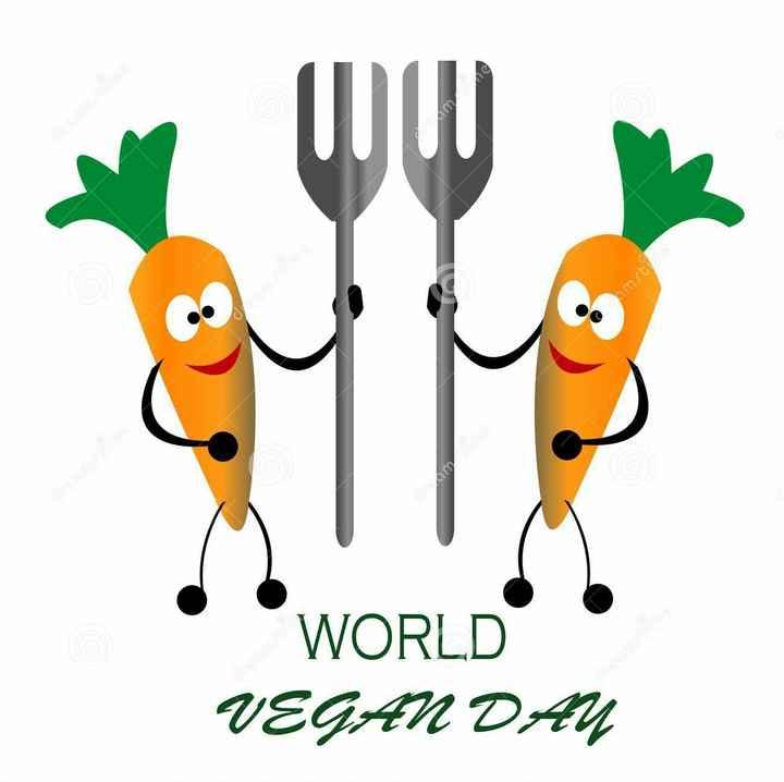 🥕 વિશ્વ ગાજર દિવસ - Jamst WORLD VEGAN DAY - ShareChat
