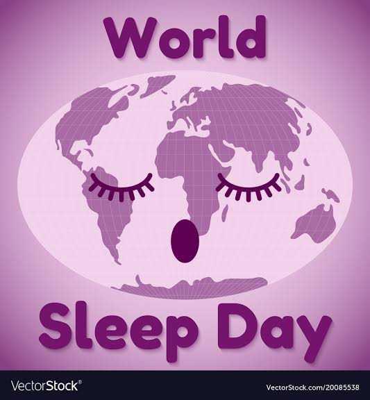 😴 વિશ્વ નિંદર દિવસ - World Sleep Day VectorStock VectorStock . com / 20085538 - ShareChat