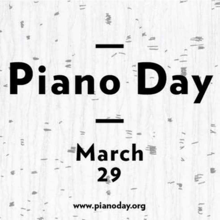 🎹 વિશ્વ પિયાનો દિવસ - Piano Day - March 29 IINA www . pianoday . org - ShareChat