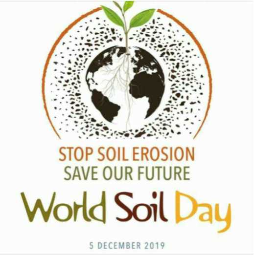 🌱 વિશ્વ માટી દિવસ - STOP SOIL EROSION SAVE OUR FUTURE World Soil Day 5 DECEMBER 2019 - ShareChat