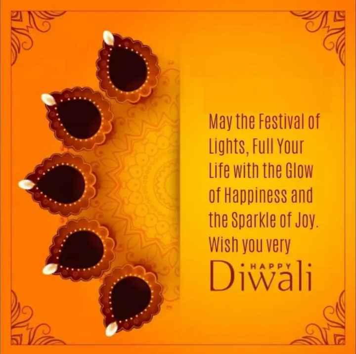 🎉 શુભ દિપાવલી - May the Festival of Lights , Full Your Life with the Glow of Happiness and the Sparkle of Joy . Wish you very Diwali A - ShareChat