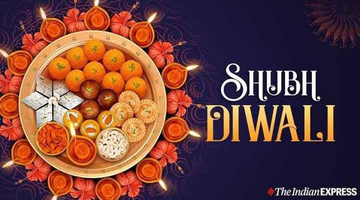 🎉 શુભ દિપાવલી - 90 SHUBH DIWALI The Indian EXPRESS - ShareChat