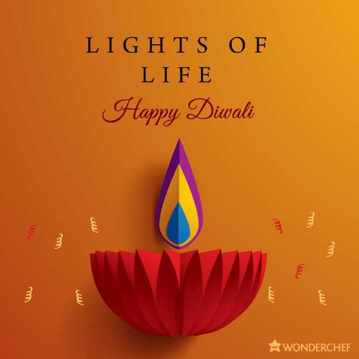 🎉 શુભ દિપાવલી - LIGHTS OF LIFE Happy Diwali WONDERCHEF - ShareChat