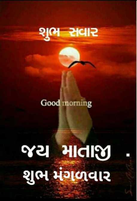 💐 શુભ મંગળવાર - શુભ સવાર Good morning ' જય માતાજી ' શુભ મંગળવાર - ShareChat