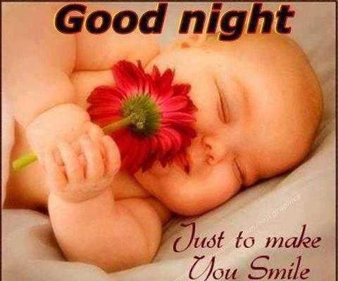 🌙 શુભરાત્રી - Good night Just to make Vou Smile - ShareChat