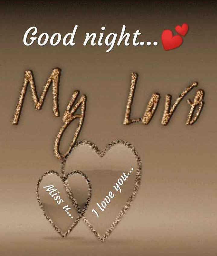 🌙 શુભરાત્રી - Good night . . . My Love Miss u . . I love you . . . - ShareChat