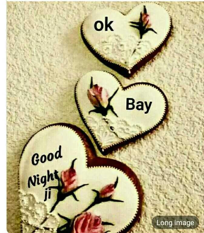 🌙 શુભરાત્રી - ok Bay Good Night Long image - ShareChat