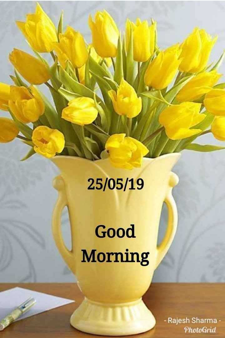 💐 શુભ શનિવાર - 25 / 05 / 19 Good Morning - Rajesh Sharma - PhotoGrid - ShareChat