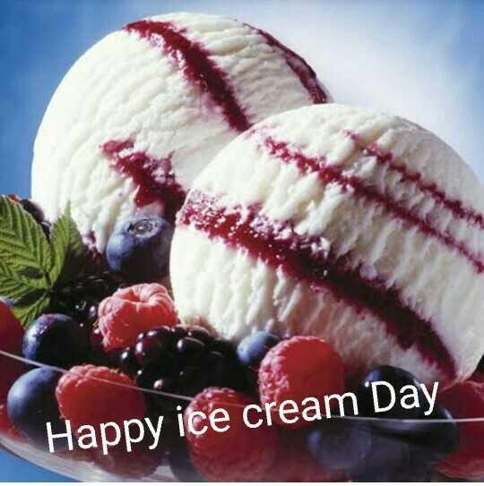 🍨 શેરચેટ આઈસક્રિમ દિવસ - ' Happy ice cream Day - ShareChat