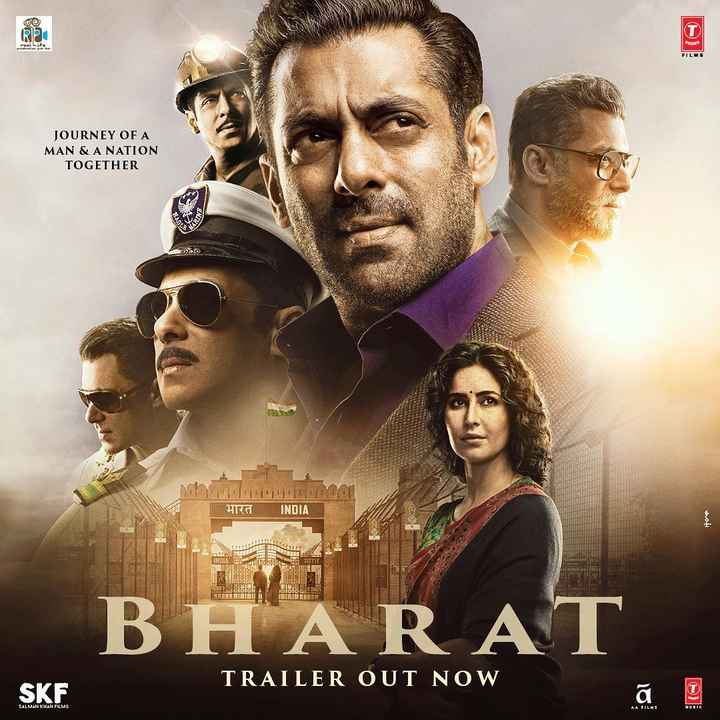 😎 સલમાન ખાન - JOURNEY OF A MAN & A NATION TOGETHER STARD भारत INDIA hati BH A RAT TRAILER OUT NOW SKF SALMAN KHAN FILMS - ShareChat