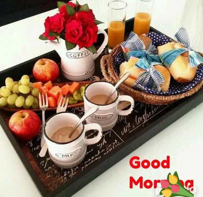 🍞 સવાર નો નાસ્તો - COFFE MUG 2 I Miu More Good More - ShareChat