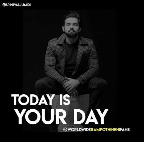 🌅 સુપ્રભાત 🙏 - @ SRINIVASJUMIDI TODAY IS YOUR DAY @ WORLDWIDERAMPOTHINENIFANS - ShareChat