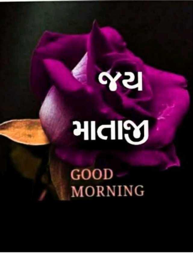 🌅 સુપ્રભાત - જી માતાજી GOOD MORNING - ShareChat
