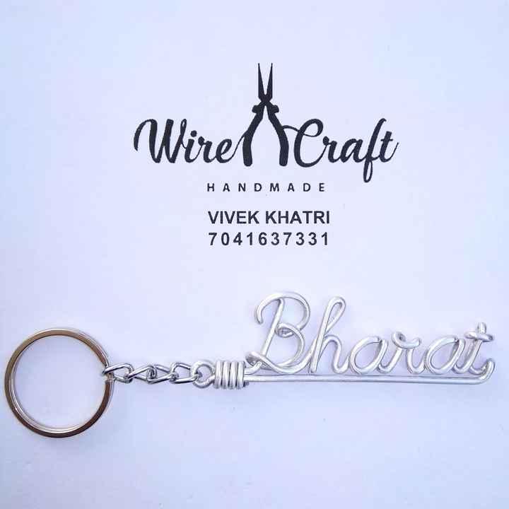 હેન્ડમેડ વસ્તુઓ - ( Wirel Craft HANDMADE VIVEK KHATRI 7041 637331 Qa Bheru - ShareChat