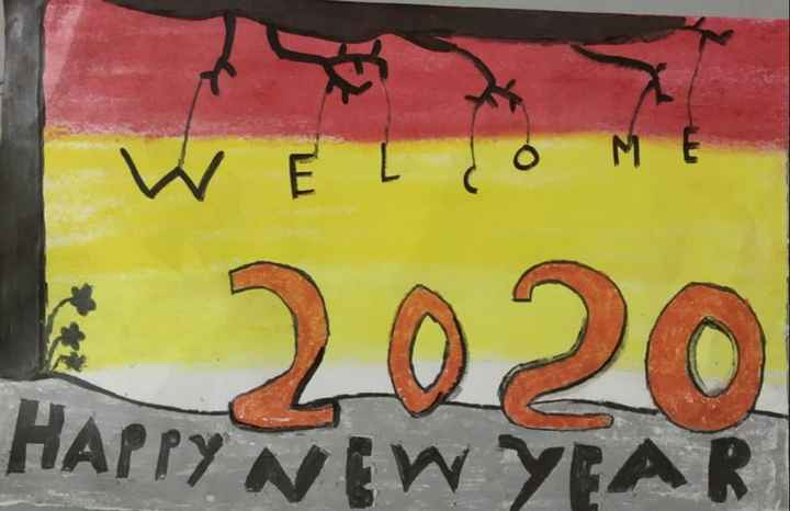 🎉 હેપી ન્યૂ યર : 2020 - I w Ě I do M 2020 HAPPY NEW YEAR - ShareChat
