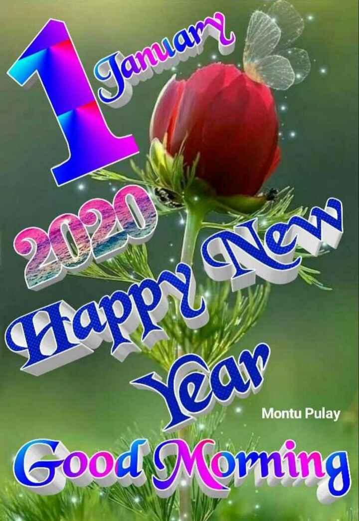 🎉 હેપી ન્યૂ યર : 2020 - Camiam 202013 Happy New Year Montu Pulay Good Morning - ShareChat