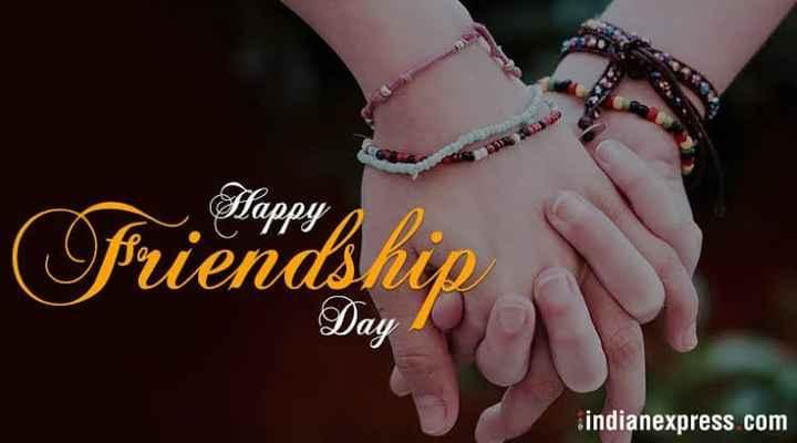 🤝 હેપી ફ્રેન્ડશીપ દિવસ - Happy friendship Day indianexpress com - ShareChat