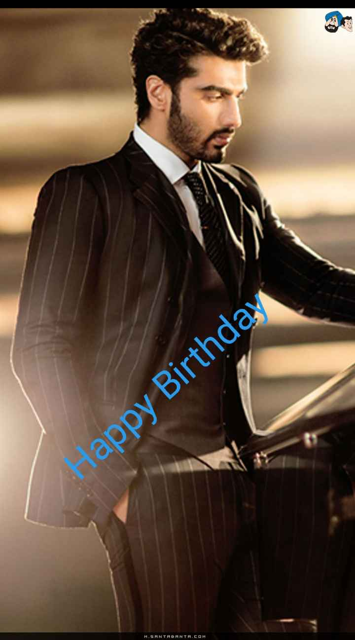 🎂 હેપી બર્થ ડે: અર્જુન કપૂર - Happy Birthday M . SANTABANTA . COM - ShareChat