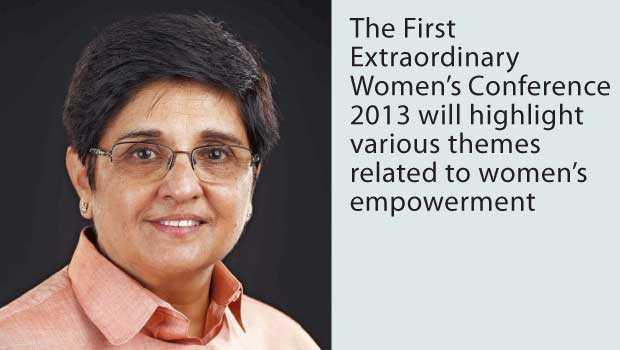 🎂 હેપી બર્થ ડે: કિરણ બેદી - The First Extraordinary Women ' s Conference 2013 will highlight various themes related to women ' s empowerment - ShareChat