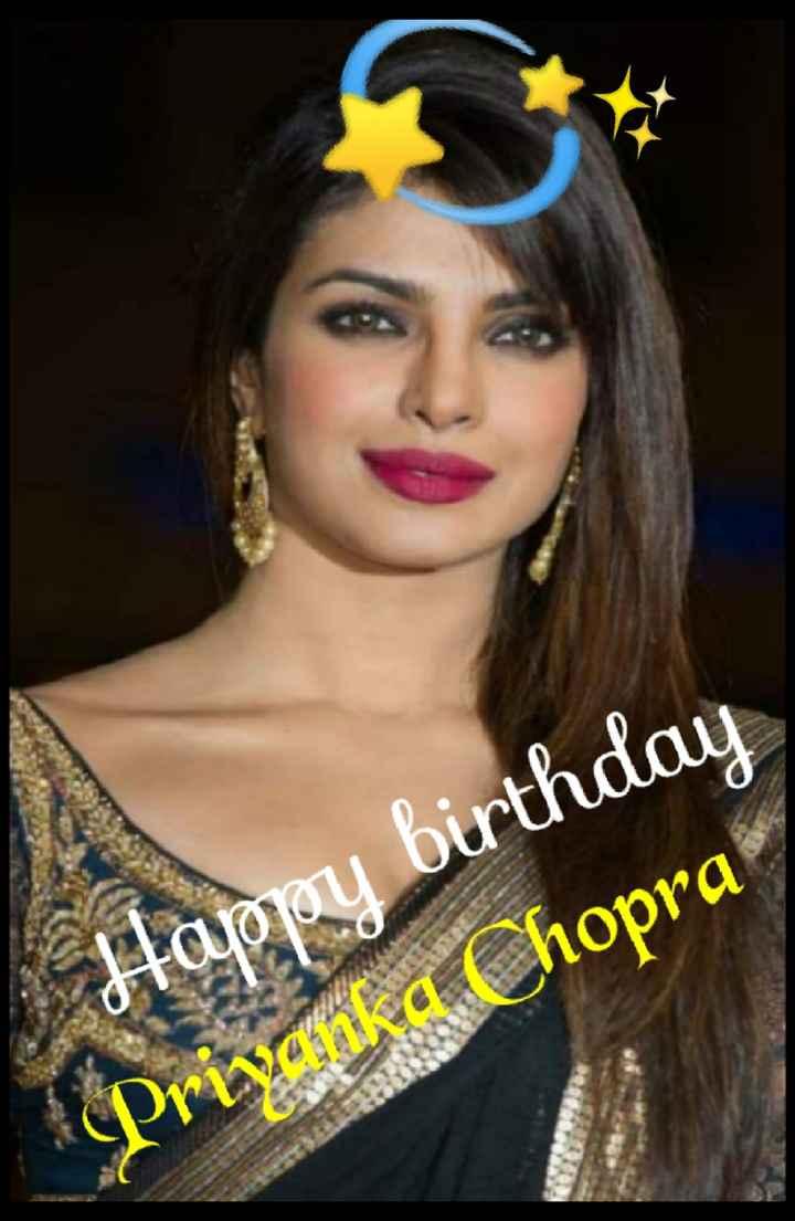 🎂 હેપી બર્થ ડે: પ્રિયંકા ચોપરા - Happy birthday Privalka Chopra - ShareChat