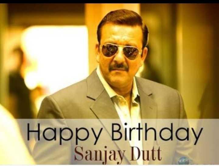 🎂 હેપી બર્થ ડે: સંજય દત્ત - Happy Birthday Sanjay Dutt - ShareChat