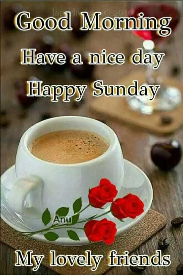 💐 હેપી રવિવાર - Good Morning Have a nice day Happy Sunday Anu My lovely friends - ShareChat