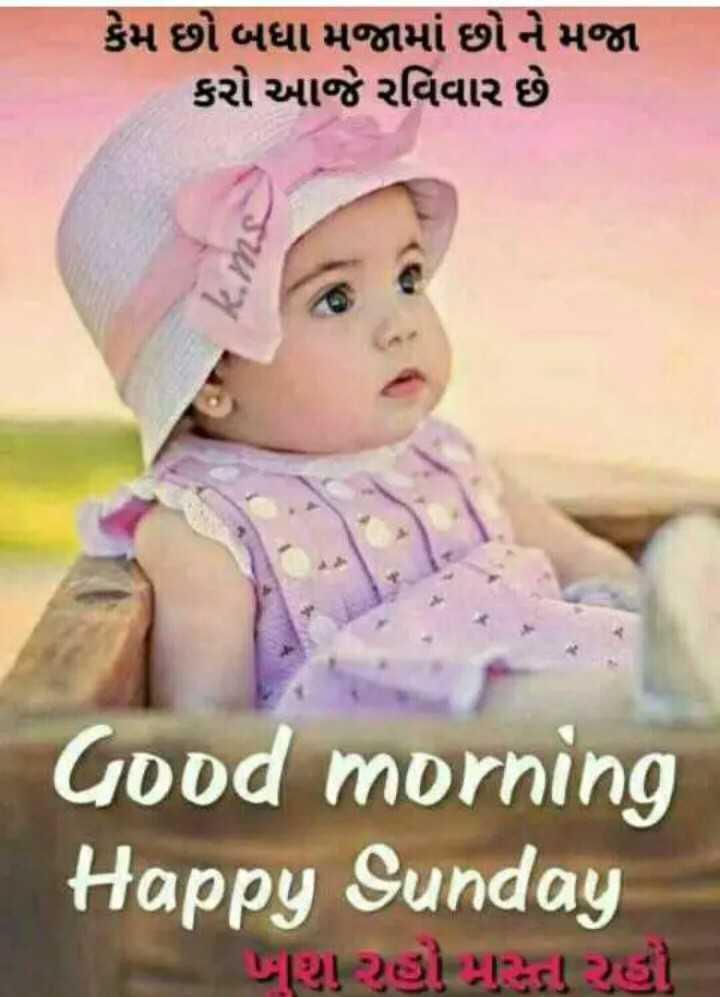 💐 હેપી રવિવાર - કેમ છો બધા મજામાં છો ને મજા કરો આજે રવિવાર છે Good morning Happy Sunday | પશુ રહી ટાકડા રહો - ShareChat
