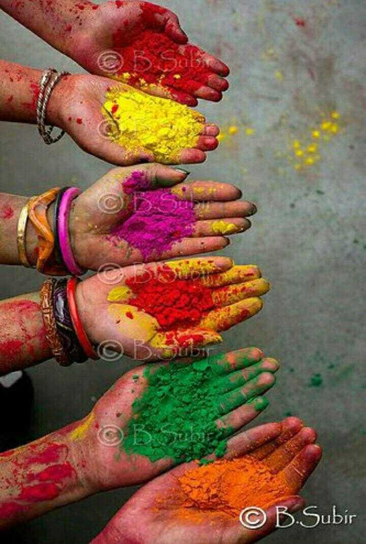 🎴 હોળી વોલપેપર - G Dாப்மா - © B . Subir - ShareChat