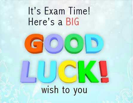 ଅଲ ଦ ବେଷ୍ଟ - It ' s Exam Time ! Here ' s a BIG GOOD LUCK ! wish to you - ShareChat