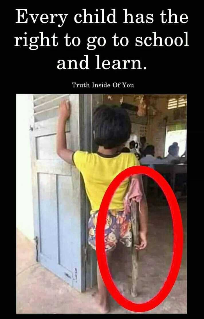 ଆମେ ଓଡ଼ିଶାର ଭବିଷ୍ୟତ - Every child has the right to go to school and learn . Truth Inside Of You - ShareChat