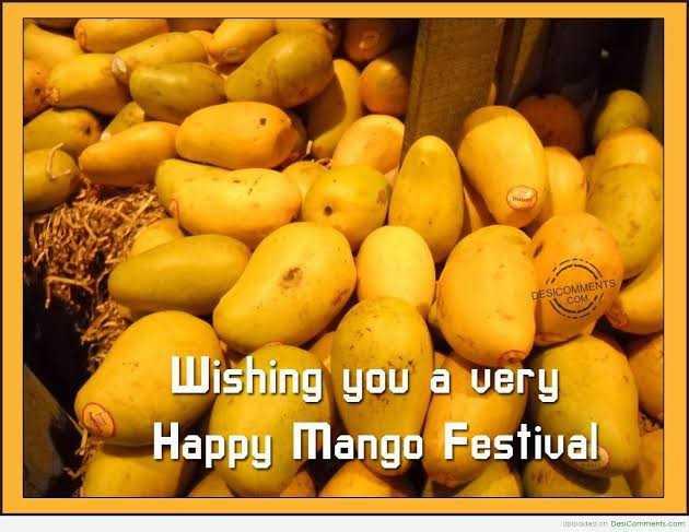 🍋ଆମ୍ବ ଦିବସ - DESICOMMEN Wishing you a very Happy Mango Festival ter DeComments com - ShareChat