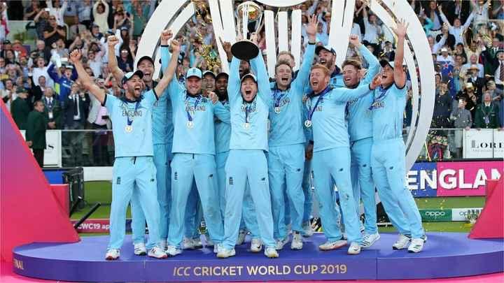 🏆ଇଂଲଣ୍ଡ: ବିଶ୍ୱକପ ବିଜେତା - AD ENGLAND ENGLAND LORI ENGLAN oppo og WC19 ap ICC CRICKET WORLD CUP 2019 - ShareChat