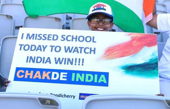 🇮🇳ଇଣ୍ଡିଆ vs ୱେଷ୍ଟଇଣ୍ଡିଜ୍🔴 - tar I MISSED SCHOOL TODAY TO WATCH INDIA WIN ! ! ! CHAKDE INDIA - - nondicherry ma 7 - ShareChat