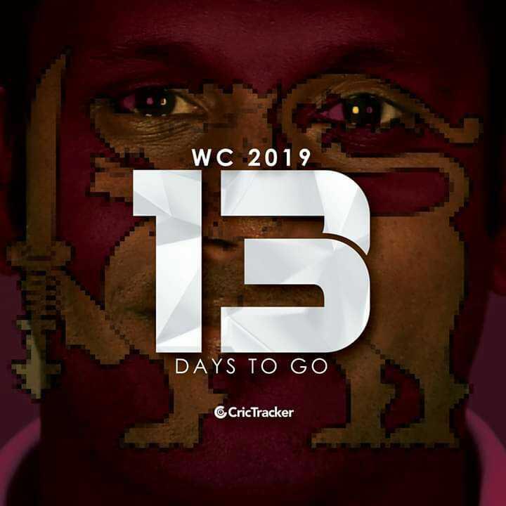 🏏କ୍ରିକେଟ ବିଶ୍ୱକପ କାଉଣ୍ଟଡାଉନ - WC 2019 DAYS TO GO CricTracker - ShareChat