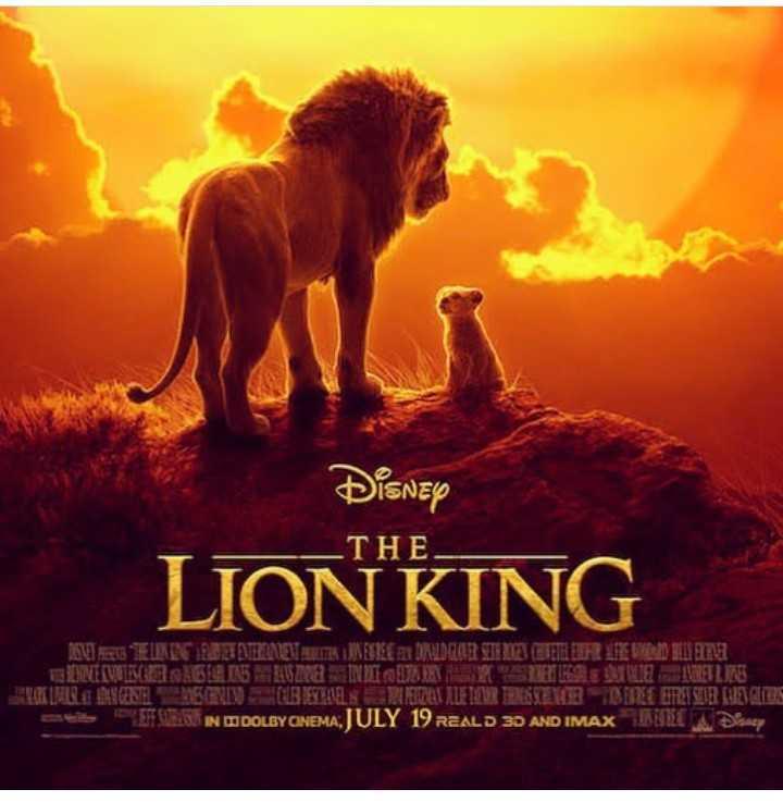 🦁ଦି ଲାୟନ କିଙ୍ଗ: ମୁଭି ରିଲିଜ - Disnep LION KING THE STEUNIOET ENTHEINEN EIK KERE ANDRADOLOR SIT NIET BETH R EACHEHE MELVUKESABLA 15 KONIER E LE DE INTRE SULLIR ENESEN ABFAL T A TUTUR RISENE DERE EITE SUR UNE OB IN ODOLBY CINEMA , JULY 19 REAL D 3D AND IMAX E R andy - ShareChat