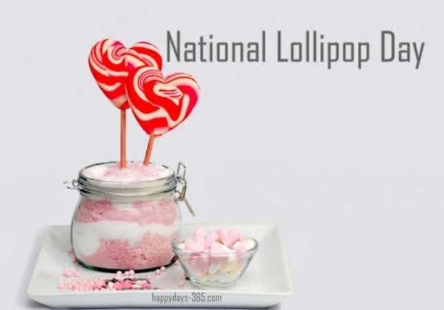 🍡ନେସନାଲ ଲଲିପପ ଡେ - ca National Lollipop Day happydays - 365 . com - ShareChat