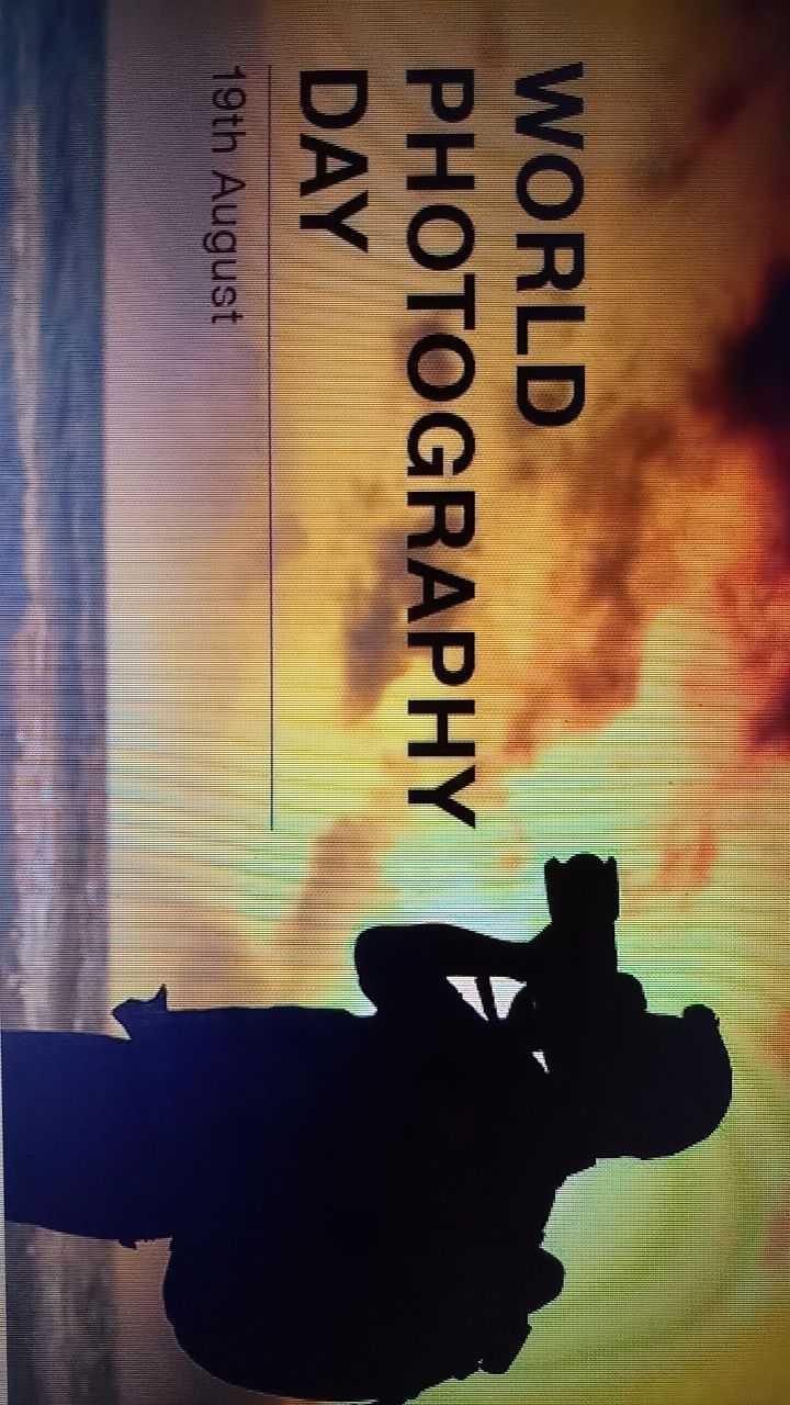 📷ଫୋଟୋଗ୍ରାଫି ଦିବସ - WORLD PHOTOGRAPHY DAY 19th August - ShareChat