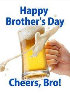 ବ୍ରଦର୍ସ ଡେ - Happy Brother ' s Day Cheers , Bro ! - ShareChat