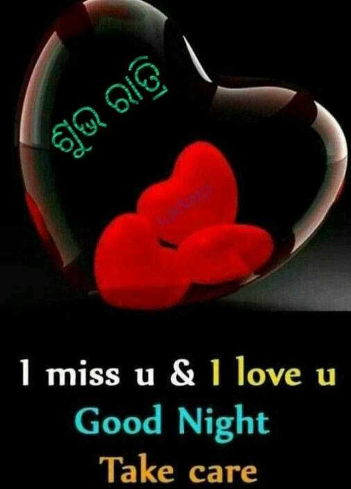 🌛ଶୁଭରାତ୍ରୀ - ଶୁଭ ରାତ୍ରି । I miss u & I love u Good Night Take care - ShareChat