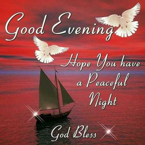 🌆ଶୁଭ ସଂନ୍ଧ୍ୟା - Good Evening af уоре ou have Hope you have a Peaceful Night God Bless - ShareChat