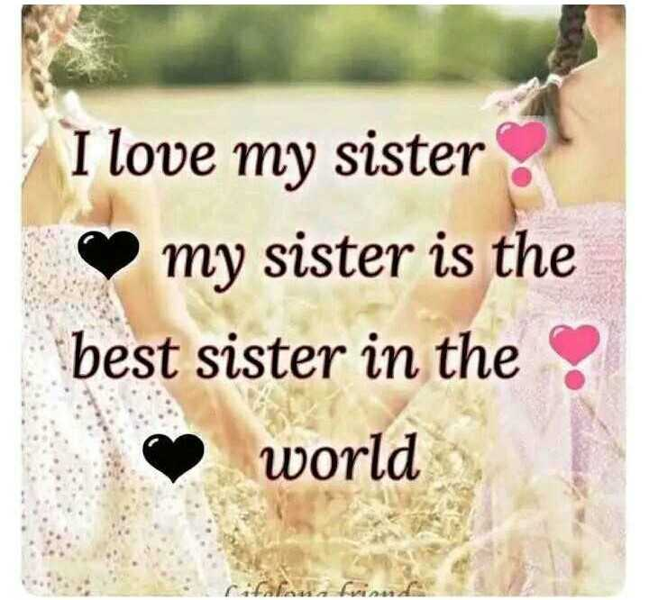 👭ଶେୟରଚେଟ୍ ସଖୀ - I love my sister my sister is the best sister in the world - ShareChat