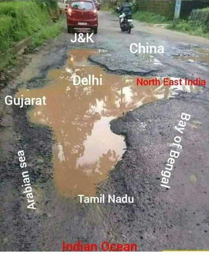 ଷ୍ଟାଇଲ ଇଣ୍ଡିଆ - J & K China Delhi North East India Gujarat Bay of Bengal Arabian sea Tamil Nadu Indian Oeean - ShareChat