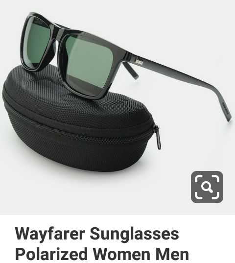 👓ସନଗ୍ଲାସ ଡେ - Wayfarer Sunglasses Polarized Women Men - ShareChat