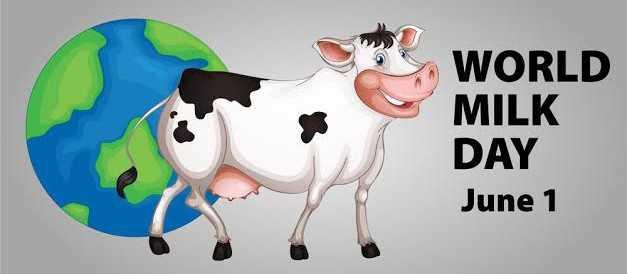 ୱାର୍ଲଡ ମିଲକ ଡେ - WORLD MILK DAY June 1 - ShareChat