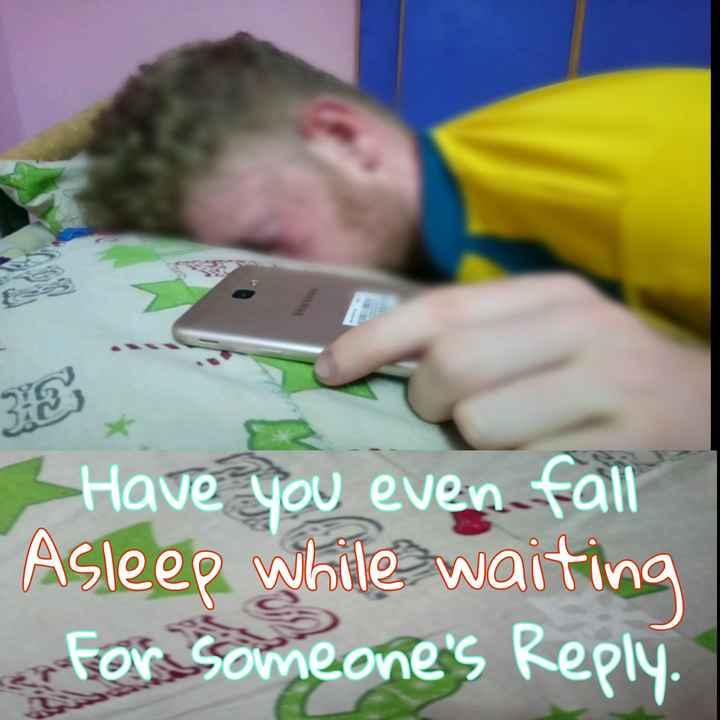 அக்கா 💖 தம்பி - Have you even fall Asleep while waiting For someone ' s Reply - ShareChat