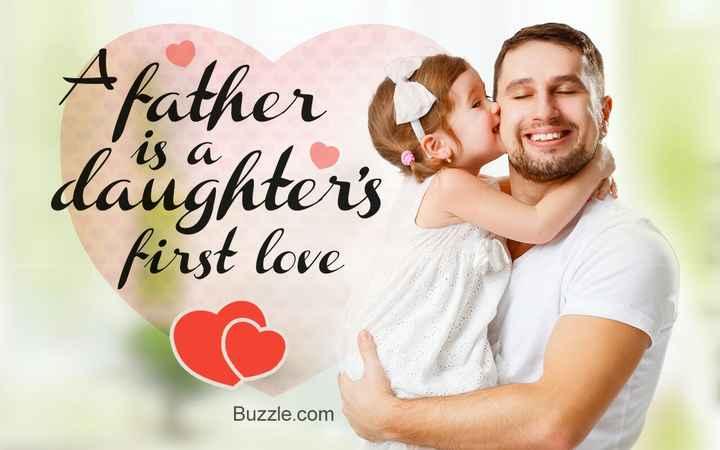 👨🏻 அப்பா - A father daughter ' s is a no first love Buzzle . com - ShareChat